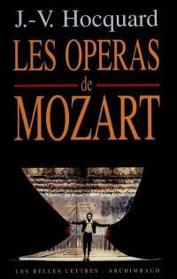 Les grands opéras de Mozart