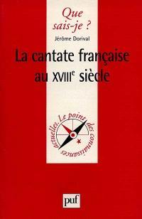 La cantate française au XVIIIe siècle