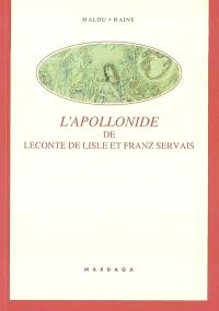 L'Apollonide de Leconte de Lisle et Franz Servais : 20 ans de collaboration