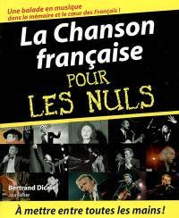La chanson française pour les nuls
