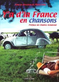 Y'a d'la France en chansons