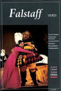 Avant-scène opéra (L'). n° 87-88, Falstaff : commedia lirica in tre atti