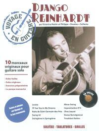 Django Reinhardt : 10 morceaux originaux pour guitare solo