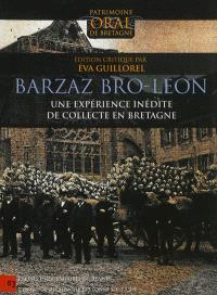 Barzaz Bro-Leon : une expérience inédite de collecte en Bretagne