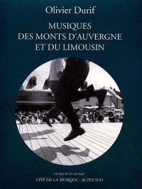 Musiques des monts d'Auvergne et du Limousin