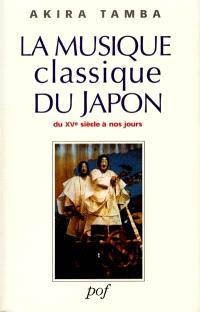 La musique classique du Japon : du 15e siècle à nos jours
