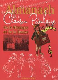 L'almanach de la chanson populaire, de la musique et de la danse