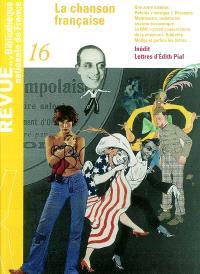 Revue de la Bibliothèque nationale de France. n° 16, Chanson française