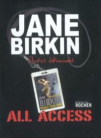 Jane Birkin, photos détournées : all access