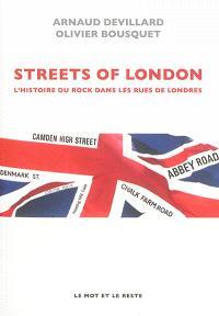 Streets of London : l'histoire du rock dans les rues de Londres