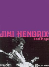 Jimi Hendrix : backstage