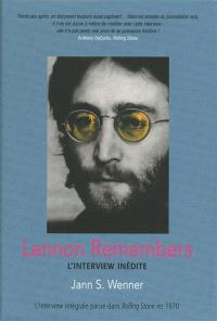 Lennon remembers : l'interview inédite