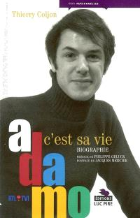 Adamo, c'est sa vie : biographie
