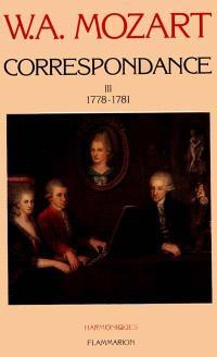 Correspondance. Volume 3, 1778-1781