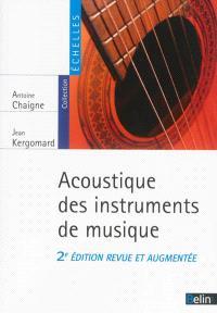 Acoustique des instruments de musique