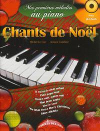 Mes premières mélodies au piano avec play back, Chants de Noël