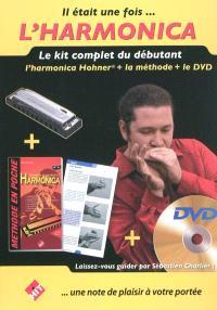 Il était une fois... l'harmonica : le kit complet du débutant avec DVD