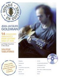 Jean-Jacques Goldman : 14 chansons arrangées pour guitare solo et duo