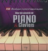 Tous les accords de piano et synthétiseur : 450 accords pour s'exercer et composer au piano