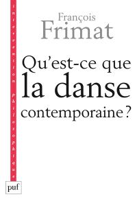 Qu'est-ce que la danse contemporaine ?