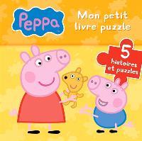 Peppa : mon petit livre puzzle : 5 histoires et puzzles