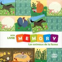 Mon livre memory : les animaux de la ferme