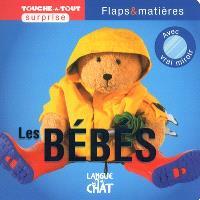 Les bébés : flaps & matières