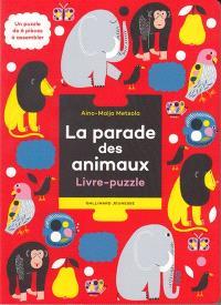La parade des animaux : livre-puzzle