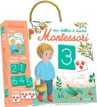 Mes chiffres à toucher Montessori