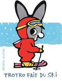 Trotro fait du ski