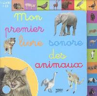 Mon premier livre sonore des animaux