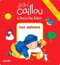 Bébé Caillou cherche bien les saisons