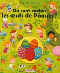 Où sont cachés les oeufs de Pâques ?