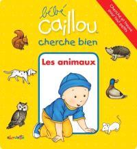 Bébé Caillou cherche bien les animaux