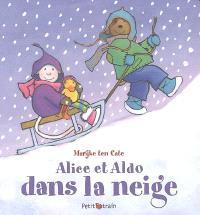 Alice et Aldo dans la neige