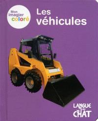 Mon imagier coloré : les véhicules