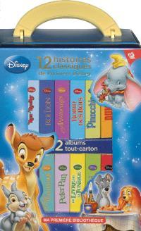 12 histoires classiques de l'univers Disney