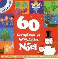 60 comptines et formulettes de Noël