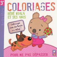 Bébé koala et ses amis : coloriages