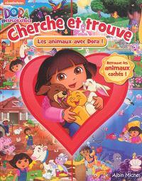 Cherche et trouve les animaux avec Dora !