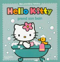 Hello Kitty prend son bain