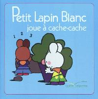 Petit Lapin blanc joue à cache-cache