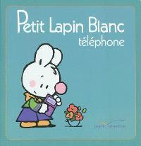 Petit Lapin blanc téléphone