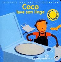 Coco lave son linge