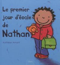 Le premier jour d'école de Nathan