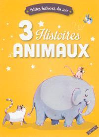 3 histoires d'animaux