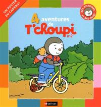 4 aventures de T'choupi. Volume 2
