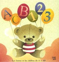 ABC 123 : les lettres et les chiffres de 1 à 10
