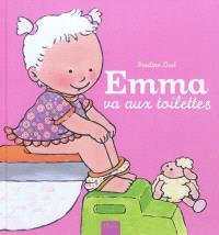 Emma va aux toilettes