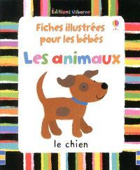 Fiches illustrées pour les bébés : les animaux